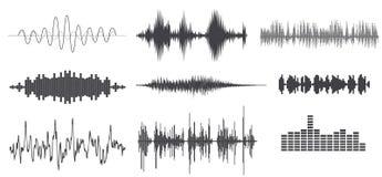 Κύμα ήχων Στοκ εικόνες με δικαίωμα ελεύθερης χρήσης