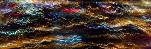 Κύμα γραμμών colorfull Στοκ φωτογραφία με δικαίωμα ελεύθερης χρήσης