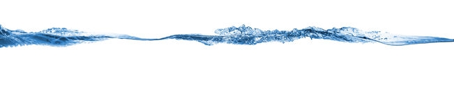 Κύμα η λάμψη παγωμένη σημαίνει το καταβρέχοντας ύδωρ μετακίνησης Στοκ φωτογραφία με δικαίωμα ελεύθερης χρήσης