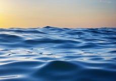 κύμα ηλιοβασιλέματος φύσης στοιχείων σχεδίου σύνθεσης Στοκ Εικόνες