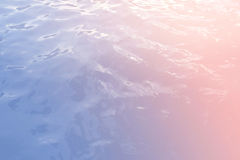 Κύμα θάλασσας στην αφηρημένη κρητιδογραφία και ζωηρόχρωμος Στοκ εικόνες με δικαίωμα ελεύθερης χρήσης