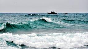 Κύμα θάλασσας του Μπόρνεο Στοκ φωτογραφίες με δικαίωμα ελεύθερης χρήσης