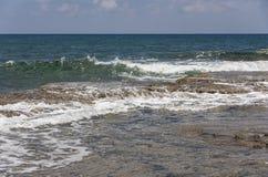κύμα θαλασσοταραχών συντριβών Στοκ εικόνα με δικαίωμα ελεύθερης χρήσης