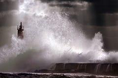 κύμα θύελλας Στοκ εικόνες με δικαίωμα ελεύθερης χρήσης
