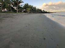 Κύμα και παραλία, κόλπος, ειρηνικό λιμάνι, νησί Viti, Νησιά Φίτζι στοκ εικόνες