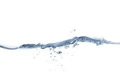 Κύμα και παφλασμός νερού Στοκ εικόνες με δικαίωμα ελεύθερης χρήσης