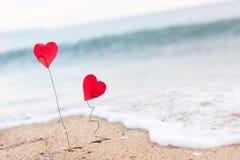 κύμα καρδιών Στοκ Φωτογραφία
