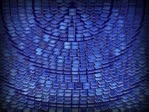 Κύμα κύκλων δικτύων υποβάθρου περιλήψεων Στοκ φωτογραφία με δικαίωμα ελεύθερης χρήσης
