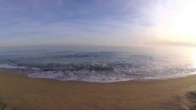 Κύμα της θάλασσας απόθεμα βίντεο