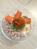 Κύπελλο σαλάτας για το Dieter Στοκ Εικόνα