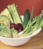Κύπελλο σαλάτας στοκ εικόνα