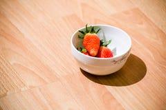 Κύπελλο των φραουλών Στοκ Φωτογραφίες