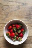 Κύπελλο των φραουλών Στοκ Εικόνες