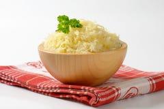 Κύπελλο sauerkraut Στοκ εικόνες με δικαίωμα ελεύθερης χρήσης