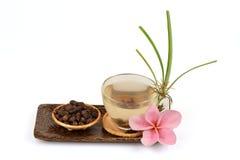 Κύπερη, rotundus Λ Cyperus χλόης κοκοφοινίκων Τσάι για την υγεία Στοκ Εικόνα
