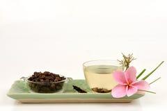 Κύπερη, rotundus Λ Cyperus χλόης κοκοφοινίκων Τσάι για την υγεία Στοκ φωτογραφία με δικαίωμα ελεύθερης χρήσης