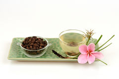 Κύπερη, rotundus Λ Cyperus χλόης κοκοφοινίκων Τσάι για την υγεία Στοκ φωτογραφίες με δικαίωμα ελεύθερης χρήσης