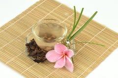 Κύπερη, rotundus Λ Cyperus χλόης κοκοφοινίκων Τσάι για την υγεία Στοκ εικόνες με δικαίωμα ελεύθερης χρήσης