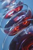 Κύπελλα γυαλιών κρασιού Στοκ Φωτογραφίες