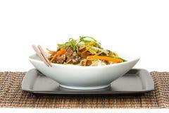Κύπελλο ρυζιού βόειου κρέατος Στοκ Εικόνα