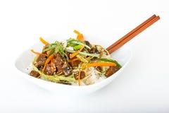 Κύπελλο ρυζιού βόειου κρέατος Στοκ εικόνες με δικαίωμα ελεύθερης χρήσης