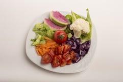 Κύπελλο σαλάτας Στοκ Εικόνες