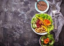 Κύπελλο του Βούδα υγιής χορτοφάγος τροφίμων Στοκ φωτογραφίες με δικαίωμα ελεύθερης χρήσης