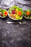 Κύπελλο του Βούδα υγιής χορτοφάγος τροφίμων Στοκ φωτογραφία με δικαίωμα ελεύθερης χρήσης