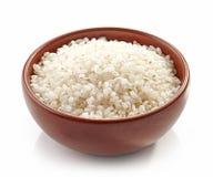 Κύπελλο του στρογγυλού ρυζιού στοκ φωτογραφίες