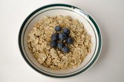 Κύπελλο του quinoa-chia με το κάλυμμα βακκινίων Στοκ εικόνα με δικαίωμα ελεύθερης χρήσης