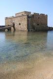 Κύπρος Πάφος Castle Στοκ Φωτογραφία