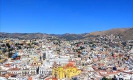 Κύρια άποψη pipila Guanajuato ζωηρόχρωμη στοκ φωτογραφίες με δικαίωμα ελεύθερης χρήσης