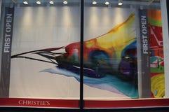Κύρια έδρα της Christie ` s σε Rockefeller Plaza στη Νέα Υόρκη Στοκ Εικόνα