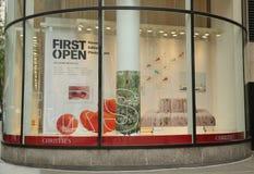 Κύρια έδρα της Christie ` s σε Rockefeller Plaza στη Νέα Υόρκη Στοκ εικόνα με δικαίωμα ελεύθερης χρήσης