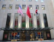 Κύρια έδρα της Christie ` s σε Rockefeller Plaza στη Νέα Υόρκη Στοκ Φωτογραφία