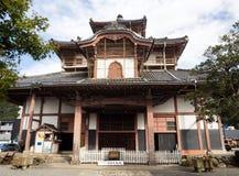 Κύρια αίθουσα του ναού Shohoji, στεγάζοντας Γκιφού ο μεγάλος Βούδας στοκ εικόνες