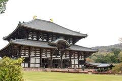 Κύρια αίθουσα του ναού Todaiji Στοκ Φωτογραφία