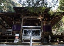 Κύρια αίθουσα Gokurakuji, ναός 2 του προσκυνήματος Shikoku στοκ φωτογραφίες με δικαίωμα ελεύθερης χρήσης