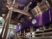 Κύρια αίθουσα Gokurakuji, ναός 2 του προσκυνήματος Shikoku στοκ φωτογραφία