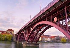 Κύρια γέφυρα, Maribor, Σλοβενία Στοκ φωτογραφία με δικαίωμα ελεύθερης χρήσης