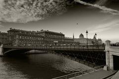 κύρια Γαλλία Παρίσι Στοκ Εικόνα