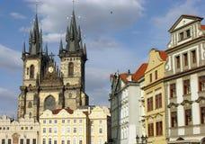 κύρια δημοκρατία της Πράγα& Στοκ φωτογραφία με δικαίωμα ελεύθερης χρήσης