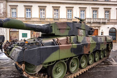 Κύρια δεξαμενή μάχης - λεοπάρδαλη 2A4 Στοκ Εικόνες