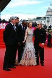 Κύρια κριτική επιτροπή ανταγωνισμού XXXVI διεθνούς φεστιβάλ ταινιών της Μόσχας Στοκ Φωτογραφία