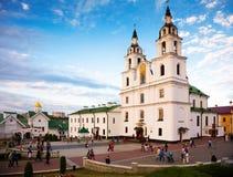Κύρια Ορθόδοξη Εκκλησία του Μινσκ Στοκ εικόνες με δικαίωμα ελεύθερης χρήσης