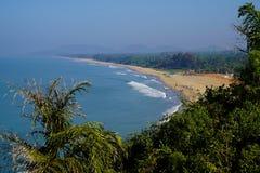 Κύρια παραλία Gokarna στοκ φωτογραφία με δικαίωμα ελεύθερης χρήσης
