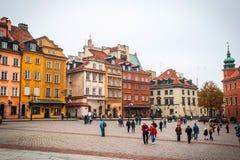 κύρια Πολωνία Βαρσοβία Στοκ Εικόνα