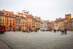 κύρια Πολωνία Βαρσοβία Στοκ Φωτογραφίες