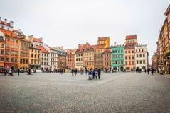 κύρια Πολωνία Βαρσοβία Στοκ Εικόνες