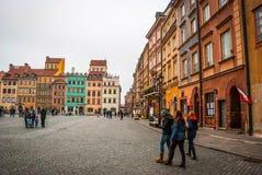 κύρια Πολωνία Βαρσοβία Στοκ φωτογραφία με δικαίωμα ελεύθερης χρήσης